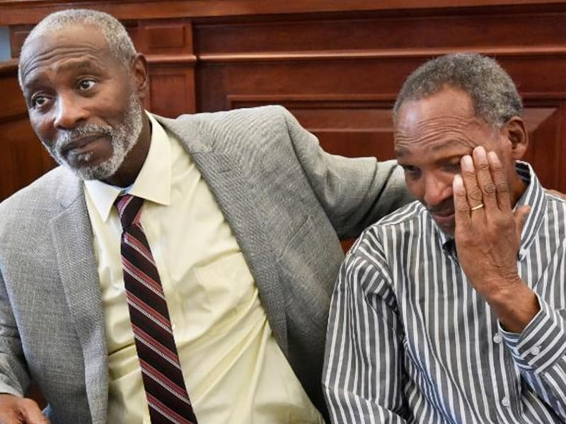 Two Men Who Were Wrongly Convicted Of Murder Were Freed After 42 Years In Jail