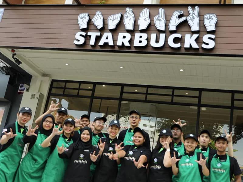 Starbucks Outlet Run By Deaf Employees Newly Opens In Malaysia