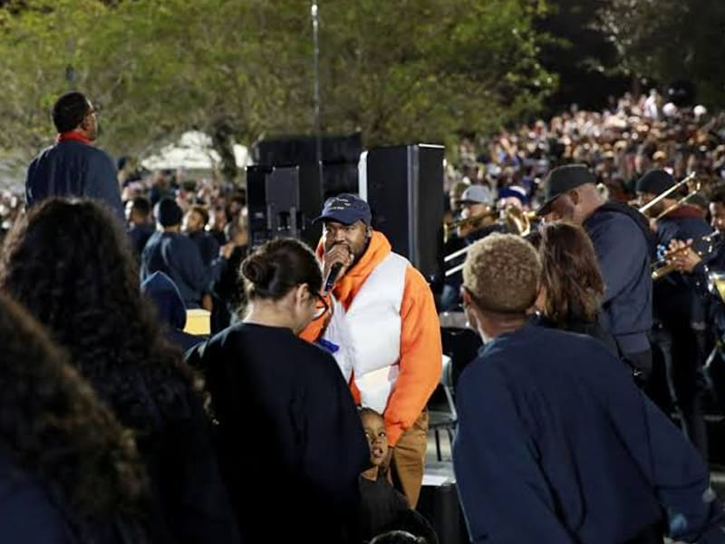Thousands Accepted Jesus At Kanye West's Latest 'Sunday Service'