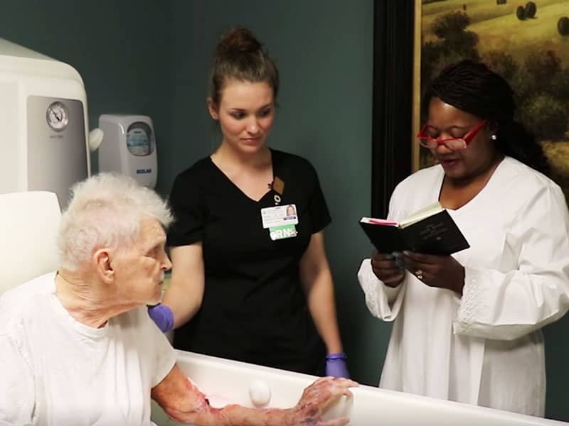Grandpa Battling Cancer Wishes To Be Baptized Before He Dies