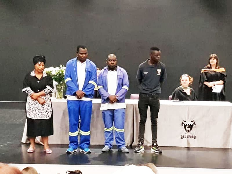 School Honours Cleaning Staff During Student Awards Ceremony