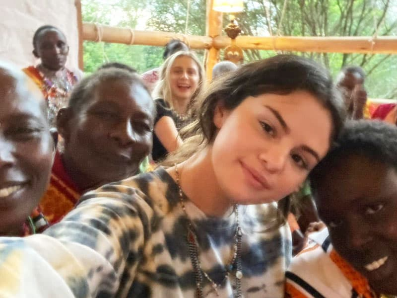Selena Gomez Opens Up About Her Mission Trip To Kenya