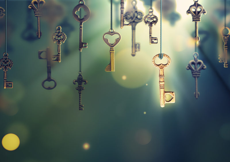 Are You Carrying Keys to the Past God Long-Ago Locked?