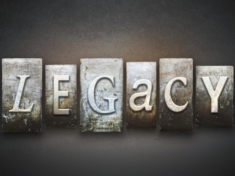 A Life Of Legacy: God Uses All Types Of People