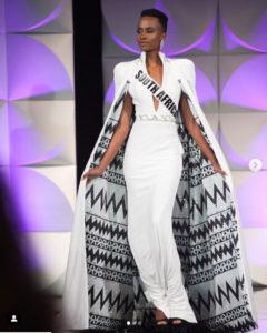 Miss Universe 2019 walks
