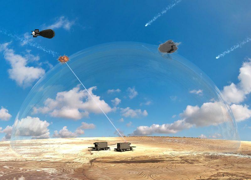 WATCH: Israel Unveils Futuristic Laser Interception System