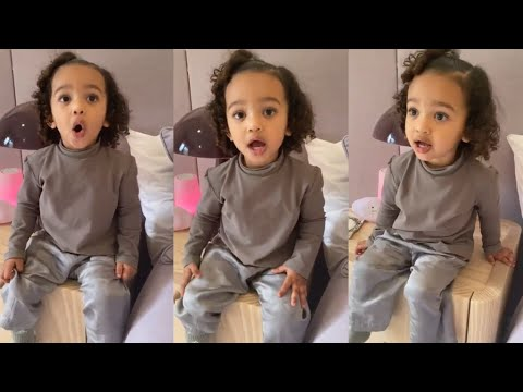 WATCH: Kanye West's 2-Year-Old Daughter Chicago West Sings 'Jesus I Love You'