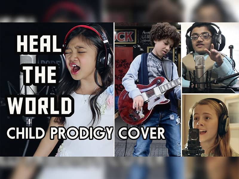 """45 Child Prodigies Cover """"Heal The World"""" And It's Jaw-Dropping"""