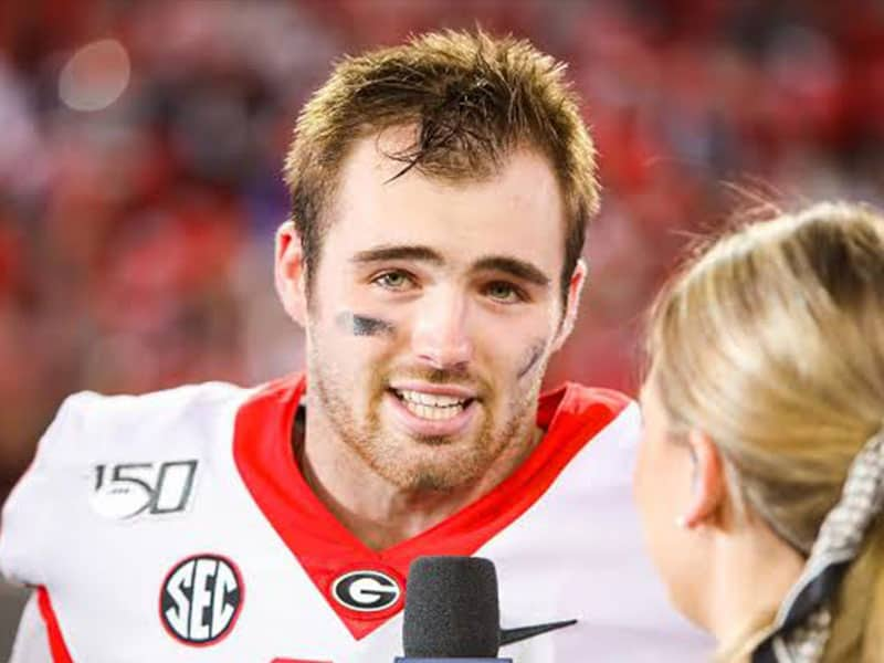 Georgia Quarterback Jake Fromm Brings Reporter To Tears