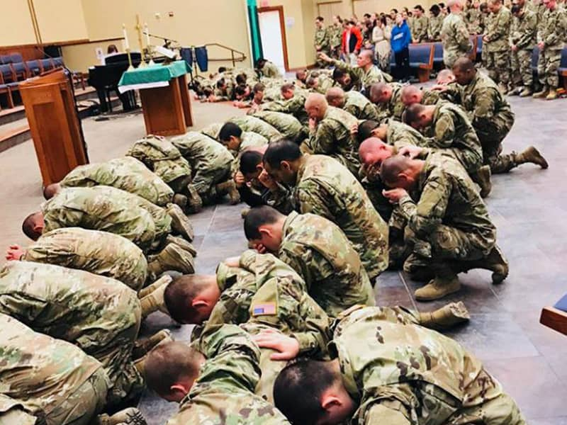 Revival Is Hits Army Base And Thousands Of Soldiers Receive Jesus
