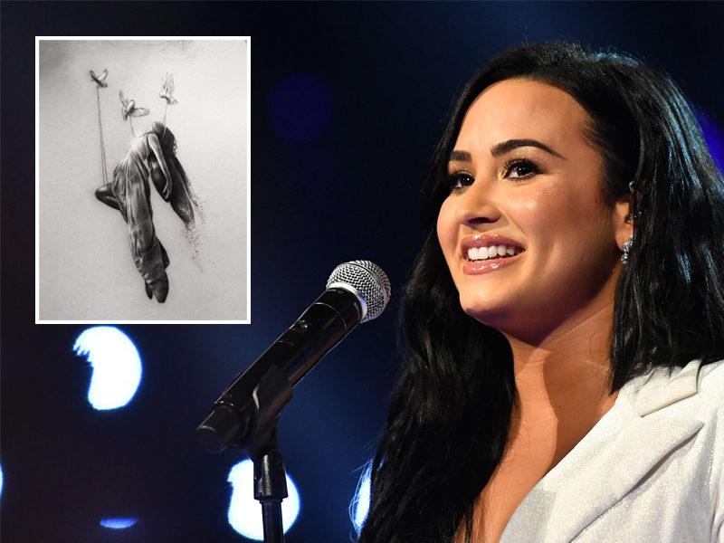 Demi Lovato Gets Meaningful Tattoo Representing Her 'Spiritual Awakening'