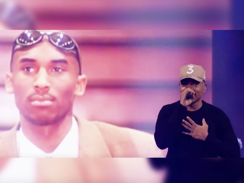 Chance The Rapper Pays Spiritual Tribute To Kobe Bryant In NBA All-Star Halftime Show