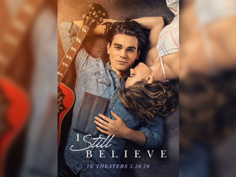 """""""I Still Believe"""" Becomes 1st Faith-Based Film To Air Nationally In IMAX"""