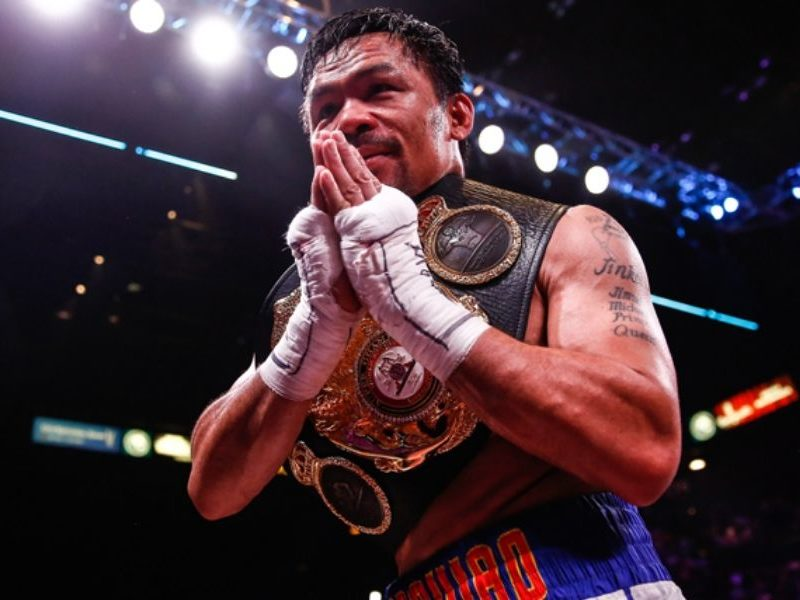 Boxing Champion Manny Pacquiao Reminds Everyone That 'God Is In Control' Over COVID-19
