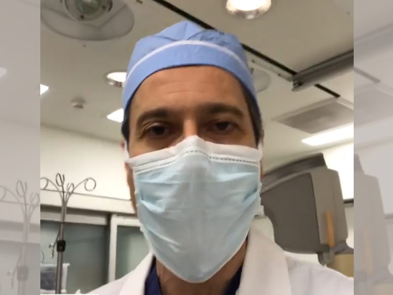 Doctor Urges The Public To Not Be Afraid And Pray For The Eradication Of COVID19