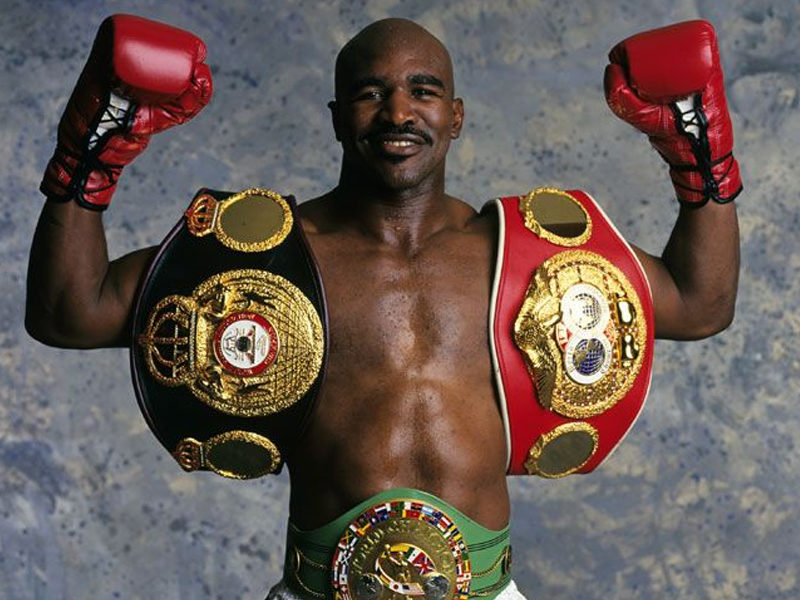 World Boxing Champion Evander Holyfield Reveals How Jesus Helped Him In The Past