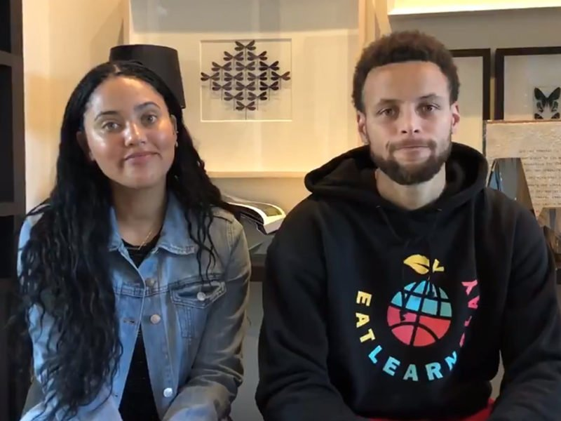 Stephen Curry Gives 1 Million Free Meals To Students During COVID-19 Lockdown