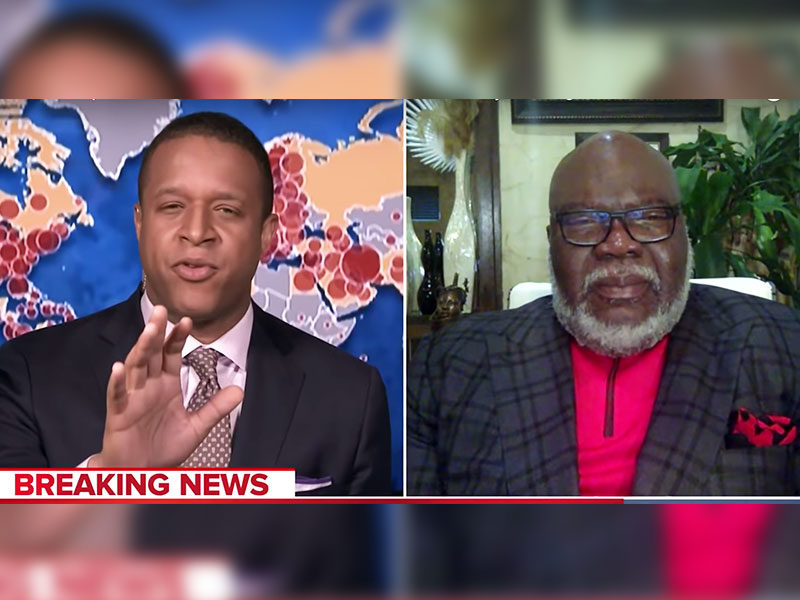 MSNBC Host Asks Pastor T.D. Jakes To Pray: 'I've Never Done This On The Air'