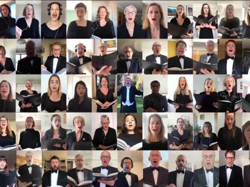 Annual 'Hallelujah' Chorus Performance Goes Virtual To Keep 144-Year-Old Tradition