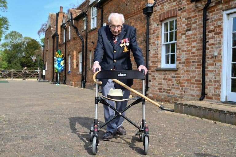 99-Year-Old World War II Veteran Raises $21.7M For COVID-19 Front-Line Workers