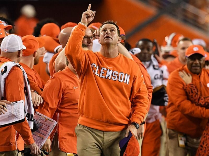Clemson's Coach, Dabo Swinney Says Faith Makes Him Optimistic Of College Football Season's Return
