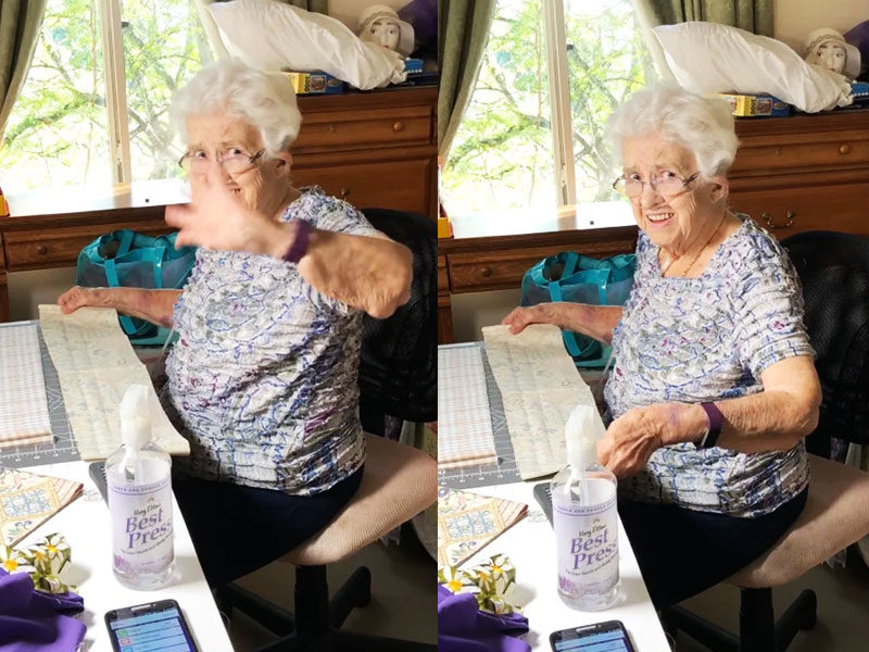 89-Year-Old Grandma Sews Over 100 Masks To Help Amid COVID-19 Crisis