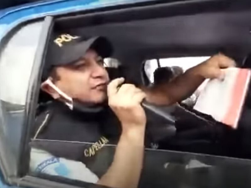 WATCH: Guatemala Police Preach Gospel In The Streets