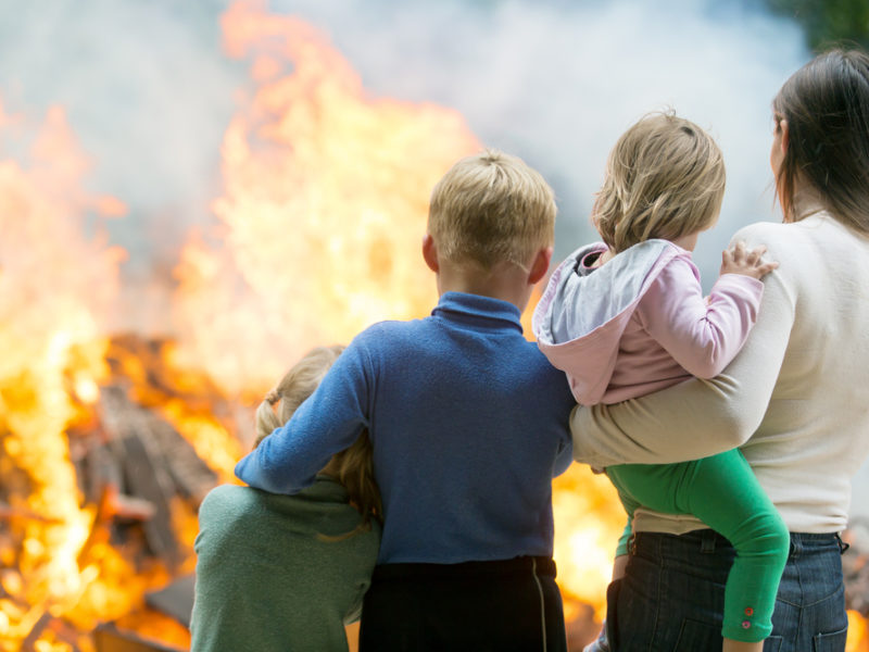 What To Do When You Encounter A House On Fire