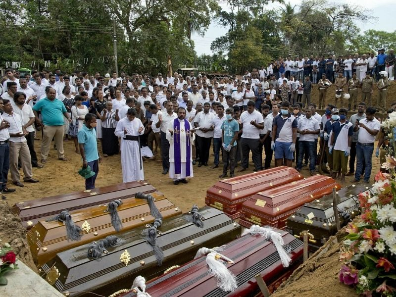 Sri Lankan Christians Forgive Suicide Bombers