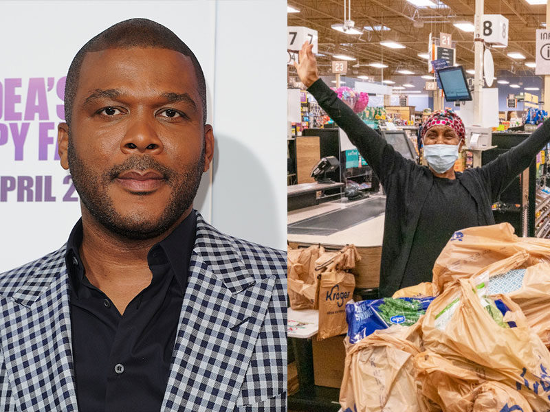 Tyler Perry Pays For Groceries Of Seniors & High-Risk Shoppers In 73 Stores Amid Pandemic