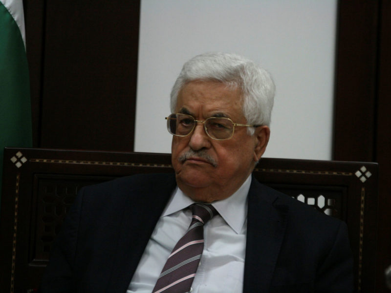Abbas Declares End to Agreements with Israel, US