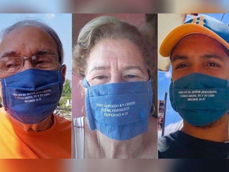 Cuban Pastors Spread The Gospel While Saving Lives Using Face Masks