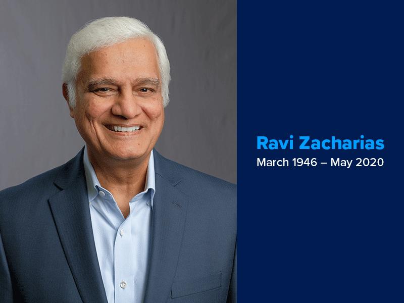 In memory of Ravi Zacharias