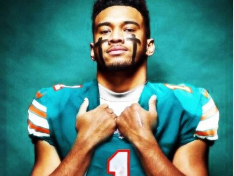 NFL Rookie Tua Tagovailoa Connects Christian Faith With His Jersey Number