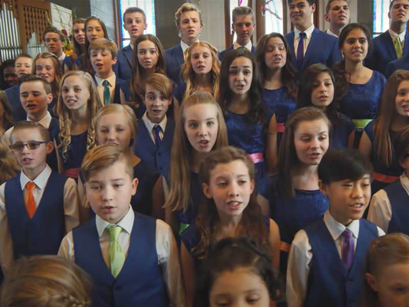 Children's Choir's Wonderful Rendition Of 'I Can Only Imagine' Is What You Need To Hear Today