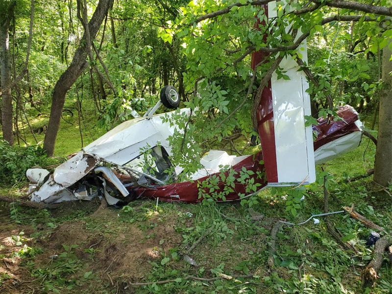 Pilot Who Found The Trapped Pilot In A Crashed Plane Credits God For The Successful Rescue