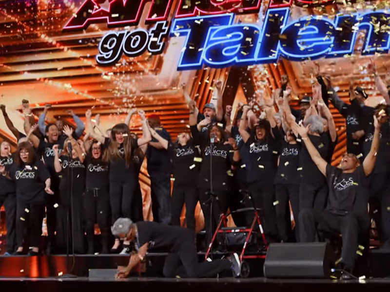 'Voices Of Our City Choir' Of Homeless People Earns Golden Buzzer On America's Got Talent