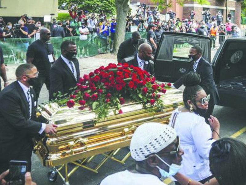 George Floyd's Emotional Farewell Service