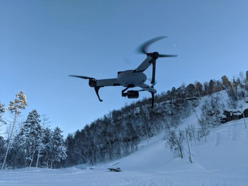Israeli Drones Deployed to Save Live in Arctic Circle