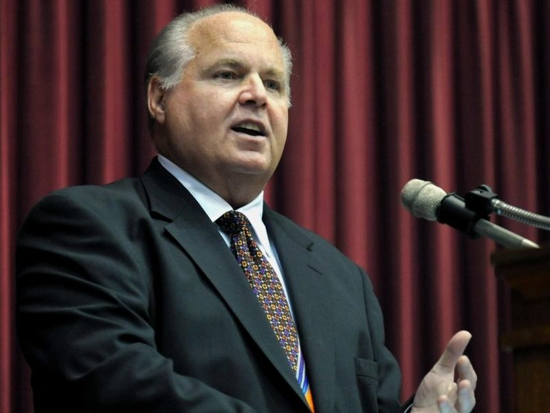 Radio Talk Host Rush Limbaugh Says Prayer Works As He Gives Update On His Cancer Battle