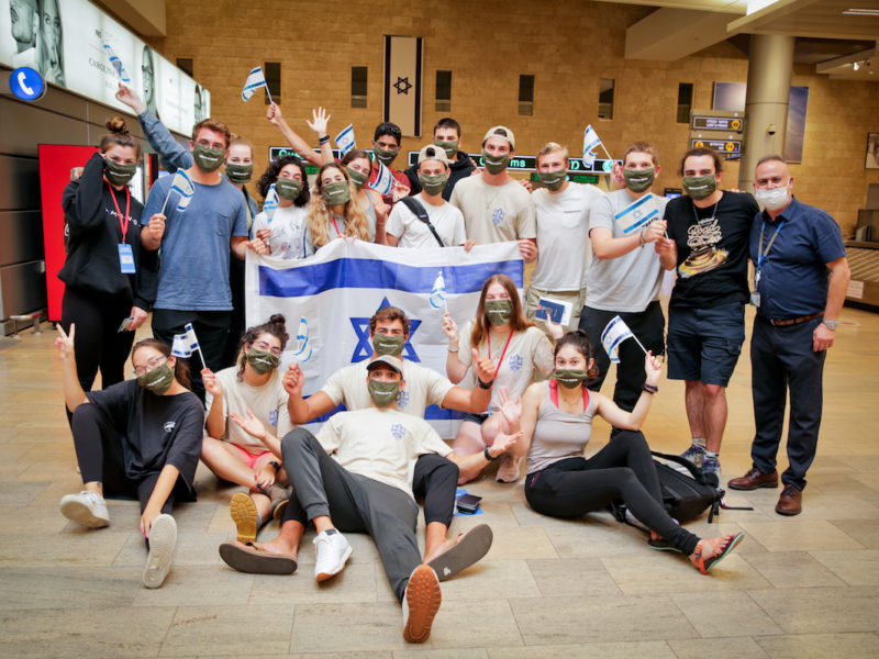 120 Olim from US, Including 78 Future Lone Soldiers, Arrive in Israel