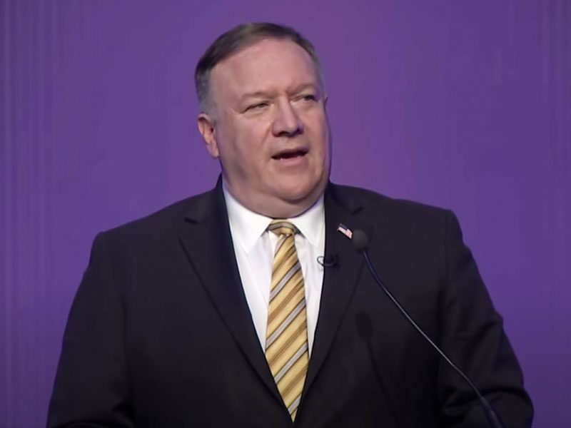 Mike Pompeo Says 'Abortion Isn't A Human Right. It Takes A Life'