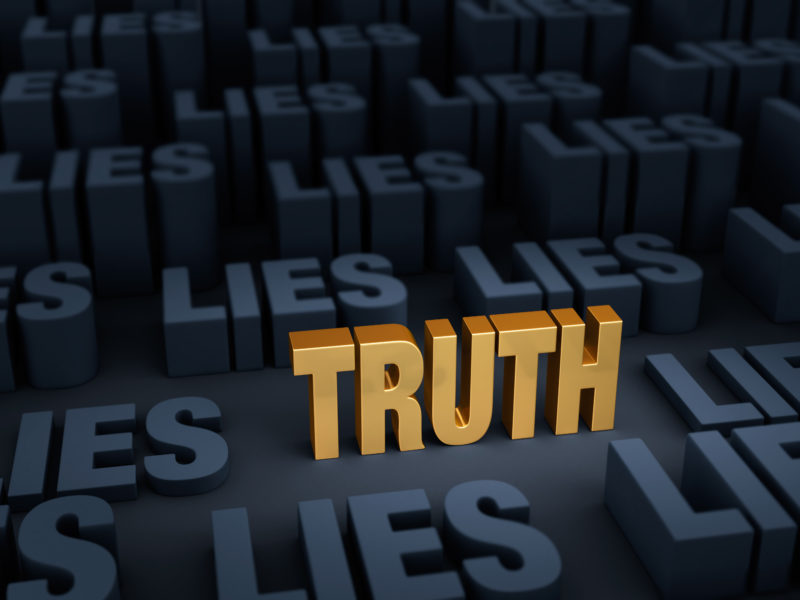 Are You Believing Lies?