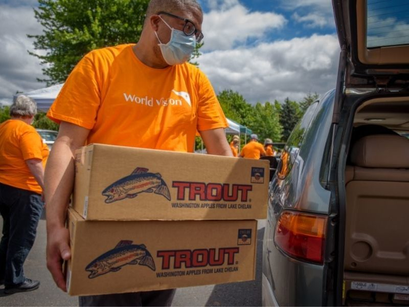 Houston Church Partners With World Vision To Help People In Need During Global Pandemic