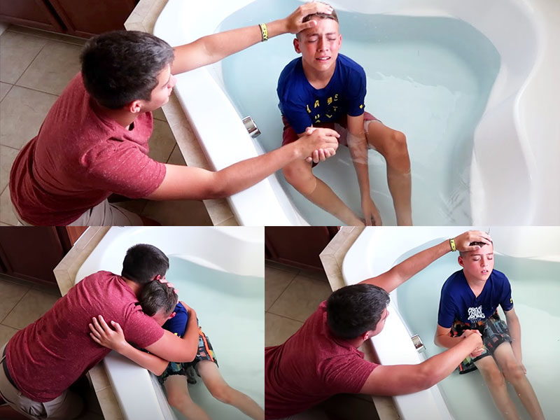 Teenage Brothers Baptized With Holy Ghost Fire