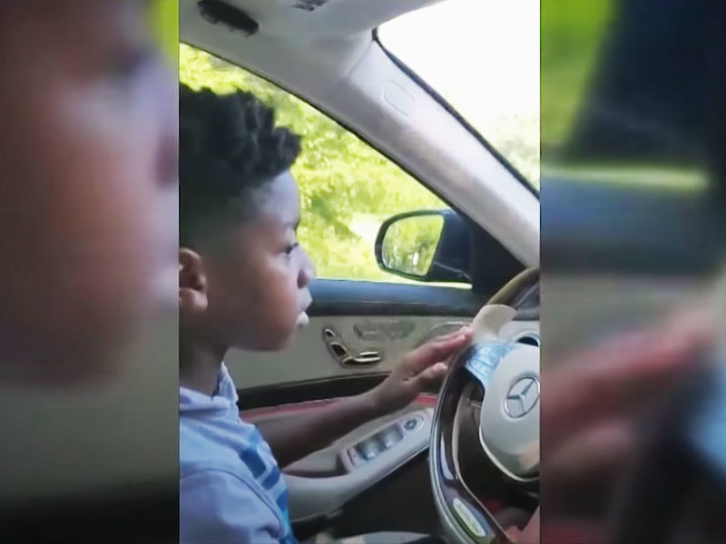 11-Year-Old Bravely Drives Car To Save His Grandma During A Medical Emergency