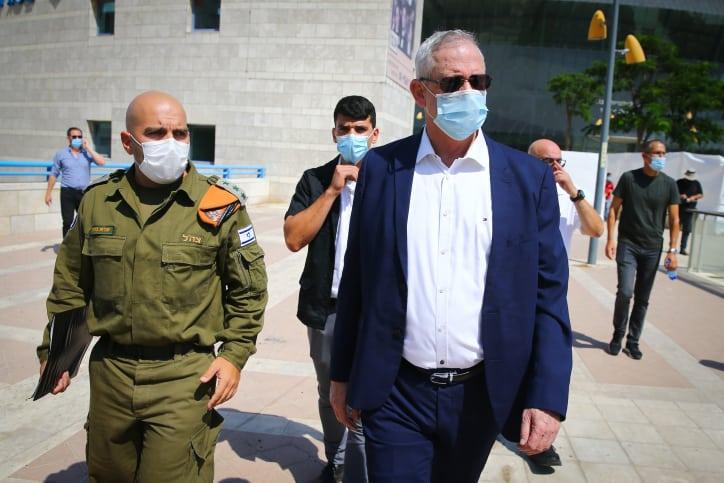 In Washington, Gantz Works To Secure Israel's Qualitative Military Edge