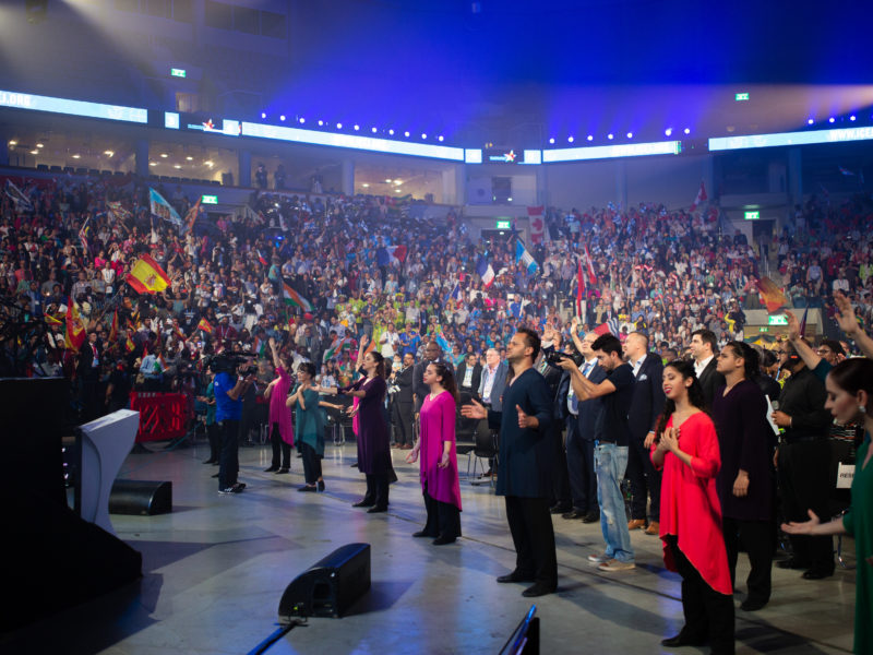 Watch the Feast of Tabernacles LIVE from Jerusalem!