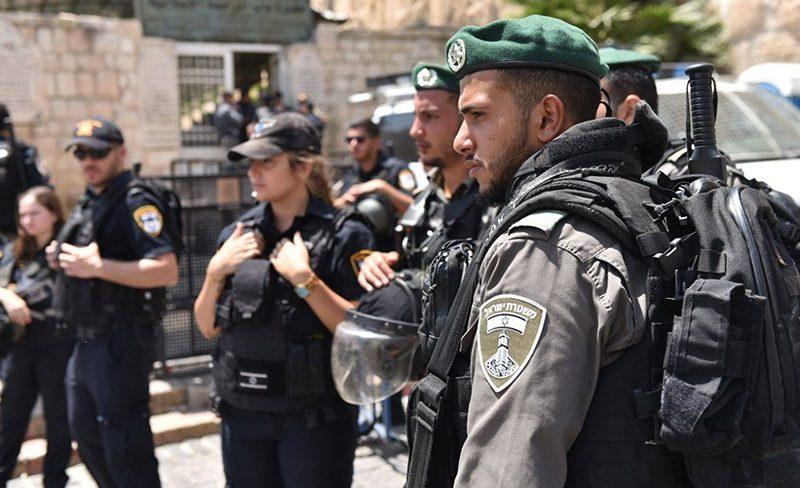Jerusalem's Police Arrest 7 Arab Rioters During Overnight Unrest