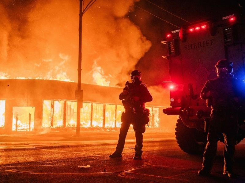 Church Unharmed From Wisconsin Protest Burning, Says God Spared Them To Be The Light